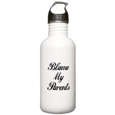 Funny Don't blame me Water Bottle
