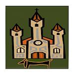 New Orleans Dachshund Art Tile