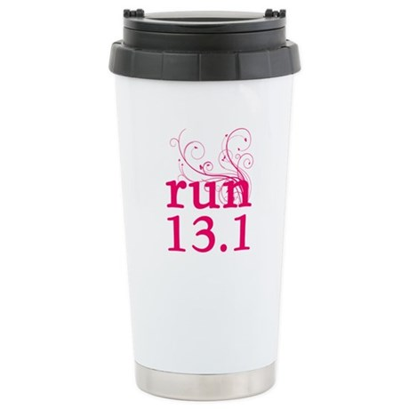 run 13.1 Ceramic Travel Mug