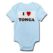 I Love Tonga Infant Creeper