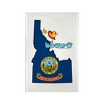 ILY Idaho Rectangle Magnet (100 pack)