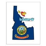 ILY Idaho Small Poster
