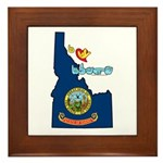 ILY Idaho Framed Tile