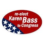 Re-elect Karen Bass bumper sticker