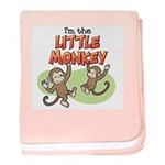 Little Monkey baby blanket