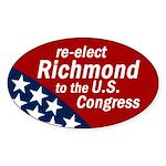 Re-elect Richmond bumper sticker
