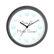 Unique Soap making Wall Clock