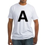A Helvetica Alphabet Shirt