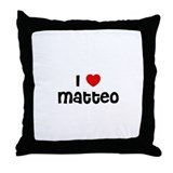 I * Matteo Throw Pillow