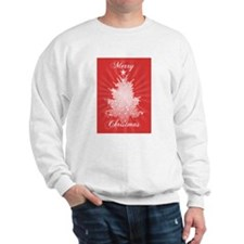 Radiant Christmas Tree Sweatshirt