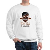Salt and Pepper Hair Sweatshirt
