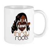Long and Curled Hair Coffee Mug