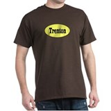 Trenton, New Jersey Black T-Shirt