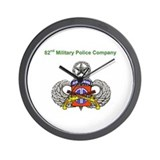 82nd MP Company Wall Clock