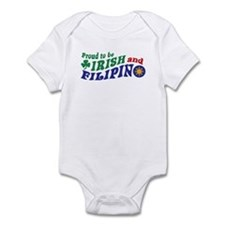 Proud to be Irish and Filipino Infant Bodysuit