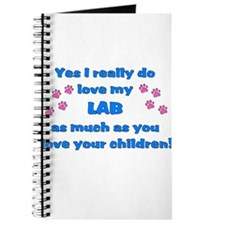 Love My Lab Journal