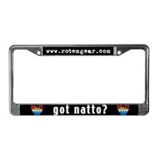 Natto II License Plate Frame