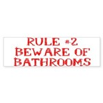 Rule #2 Sticker (Bumper 10 pk)
