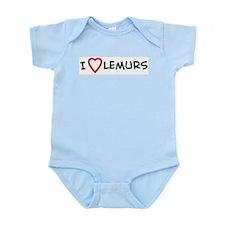 I Love Lemurs Infant Creeper