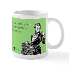 Turn The Conversation Small Mugs