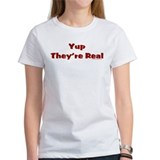Yup they're real Tee