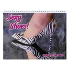 Sexy Shoes Wall Calendar