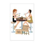 Saints Sushi Girls Mini Poster Print