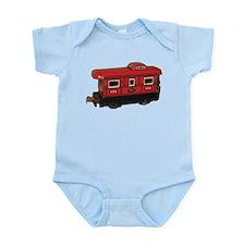 Caboose Infant Bodysuit