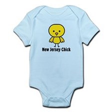 New Jersey Chick Infant Bodysuit