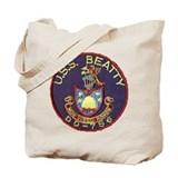 USS BEATTY Tote Bag