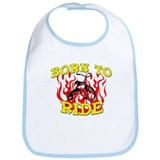 Born to Ride Bib