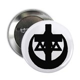 "StarCrossCrescent 2.25"" Button (10 pack)"