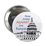 New Jersey Against Runyan button