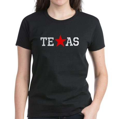 Texas LoneStar Women's Dark T-Shirt