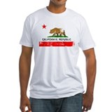 Distressed California Flag Shirt