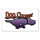 Dog Chaser Decal
