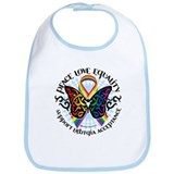 LGBT Peace Love Equality Bib
