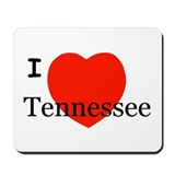 I Love Tennessee Mousepad