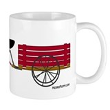 Newfoundland Pulling Cart Mug