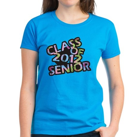 Class of 2012 Senior Women's Dark T-Shirt