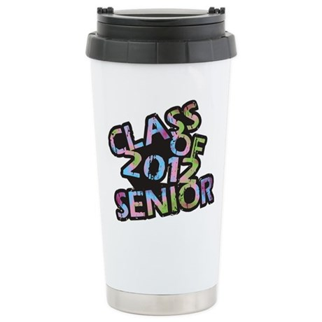 Class of 2012 Senior Ceramic Travel Mug