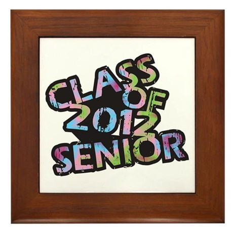 Class of 2012 Senior Framed Tile