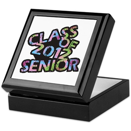 Class of 2012 Senior Keepsake Box
