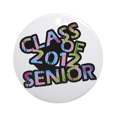 Class of 2012 Senior Ornament (Round)