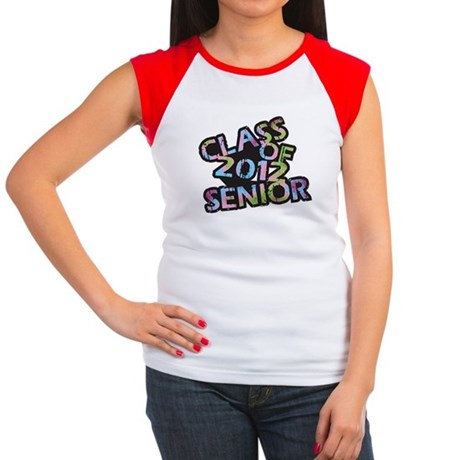Class of 2012 Senior Women's Cap Sleeve T-Shirt