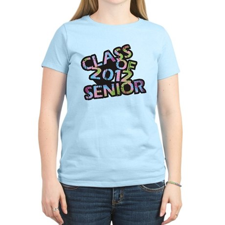Class of 2012 Senior Women's Light T-Shirt