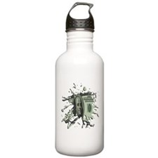 100 Dollar Blot Water Bottle