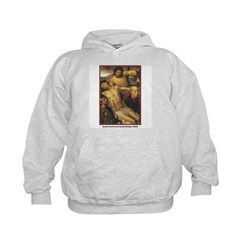 Memling Descent from Cross (Front) Kids Hoodie