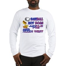 Allen West Long Sleeve T-Shirt