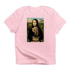 Mona Lisa - Airedale 1 Infant T-Shirt